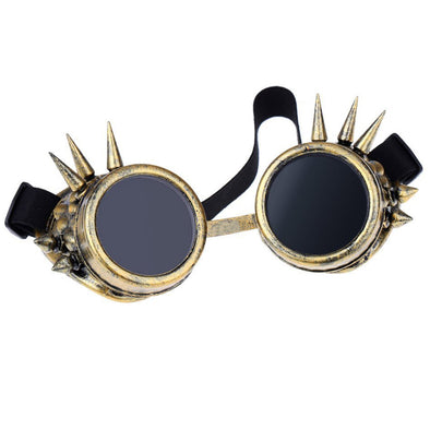 Vintage Steampunk Goggles Safety Glasses Rivet Steampunk - Cosplay Infinity