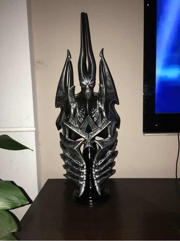World of War Craft WOW Lich King Death Knights Helmet Frostmourne