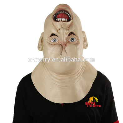 Scary Upside Down Head Latex Mask Best For Cosplay Masquerade - Cosplay Infinity