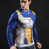 Men's  Fitness Compression Shirt Dragon Ball Z Crossfit T-shirt - Cosplay Infinity