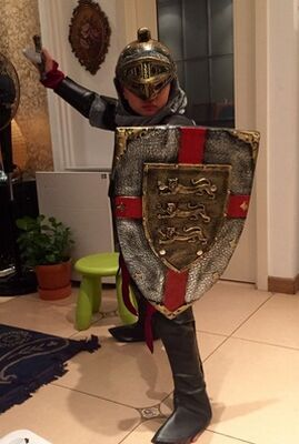 62ff081163eb47 Adult/Child Medieval Knight Costume Armor Warrior Cosplay– Cosplay ...
