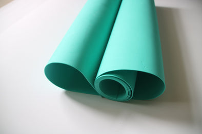 Aqua Green 2mm size 50cm*200cm, 19in x 78in Eva foam sheets cosplay material