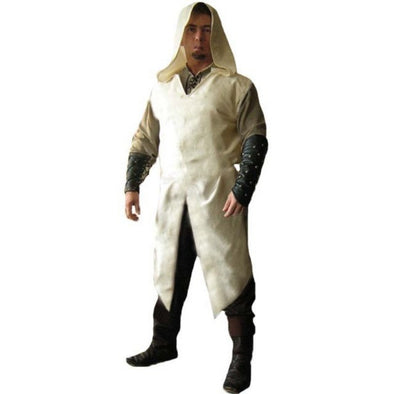 Medieval Viking Assassin Surcoat Men Women Knight Tunic Stage Hoodie Cosplay Costumes S-5XL