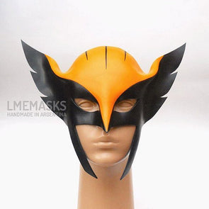 Hawkgirl Leather Mask Justice League Unlimited Cosplay Shayera Hol - Cosplay Infinity
