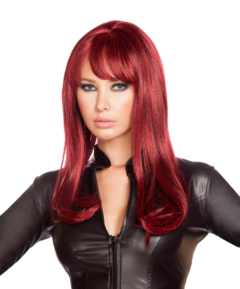 Roma Costume Burgundy Wig Parties Womens Cosplay One Size – Cosplay Infinity 46bc0437b