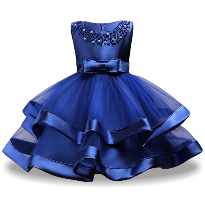 6ba00bcd19ce Children Princess Dress For Girls Party Dresses Kids Pageant Ball ...