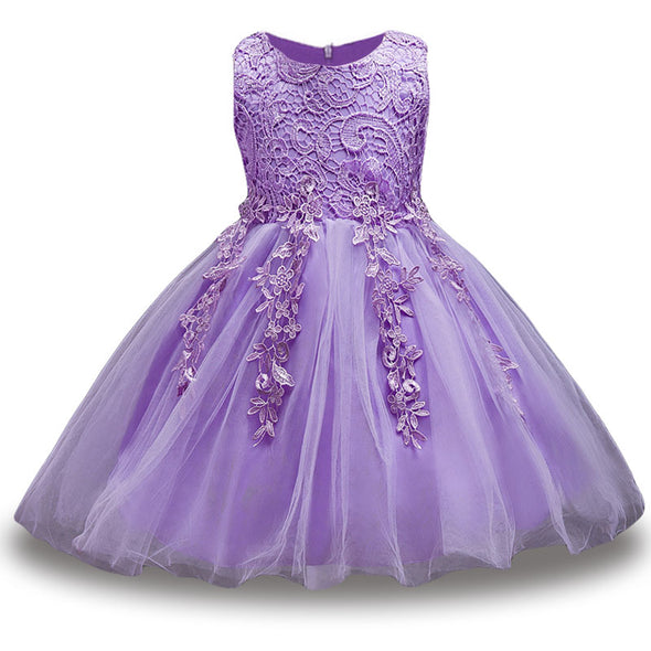 Children Princess Dress For Girls Party Dresses Kids Pageant Ball Gown - Cosplay Infinity