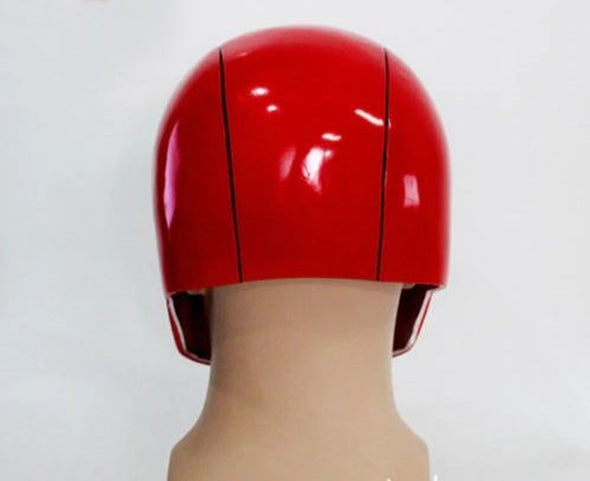 Suicide Squad Red Hood Helmet Jason Todd Red Mask Cosplay Prop
