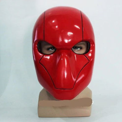 Suicide Squad Red Hood Helmet Jason Todd Red Mask Cosplay Prop - Cosplay Infinity