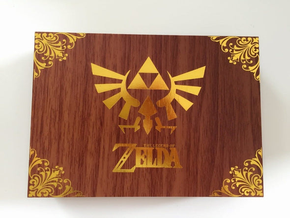 The Legend of Zelda Logo Link Necklace Keychain Pendant Keys Collection Gift Box Cosplay Toy - Cosplay Infinity