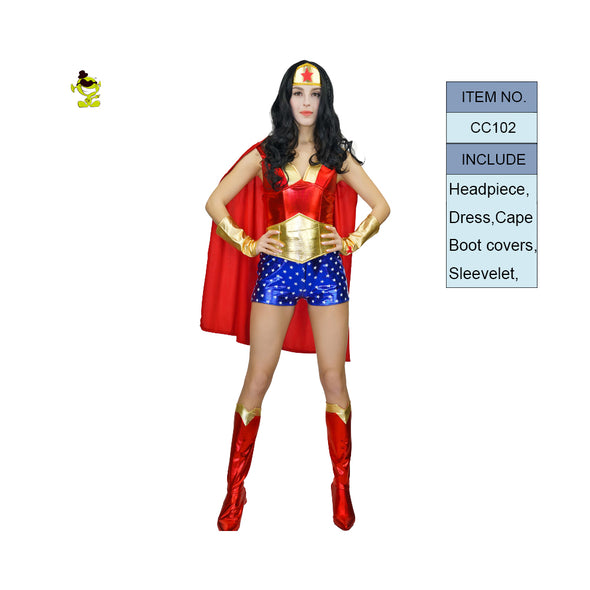 Adult Supergirl Costume Woman Superhero Cosplay - Cosplay Infinity