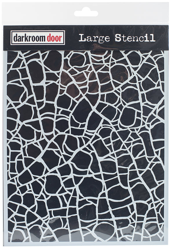 "Darkroom Door Stencil 9""X12""-Crackle - Cosplay Infinity"