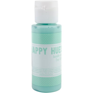 Jillibean Happy Hues Paint Daubers 2oz-Amiable Aqua - Cosplay Infinity