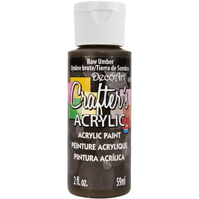 Crafter's Acrylic All-Purpose Paint 2oz-Raw Umber - Cosplay Infinity