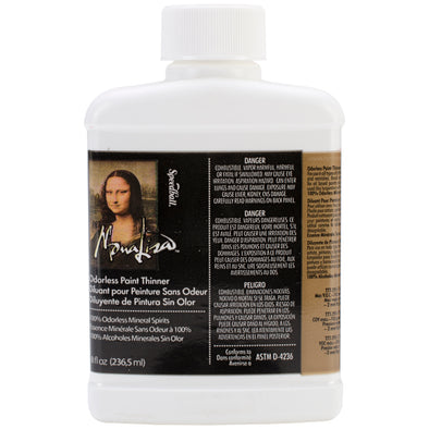 Mona Lisa Odorless Paint Thinner-8oz for Oil Paints - Cosplay Infinity