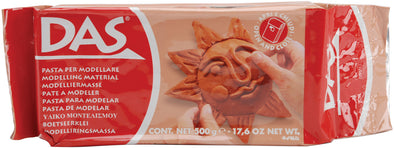 DAS Air-Dry Clay 17.6oz-Terra Cotta Modeling Clay - Cosplay Infinity