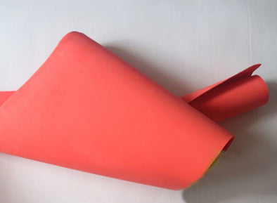 2mm Orange Eva foam sheets cosplay material.size 50*200cm, 19in x 78in