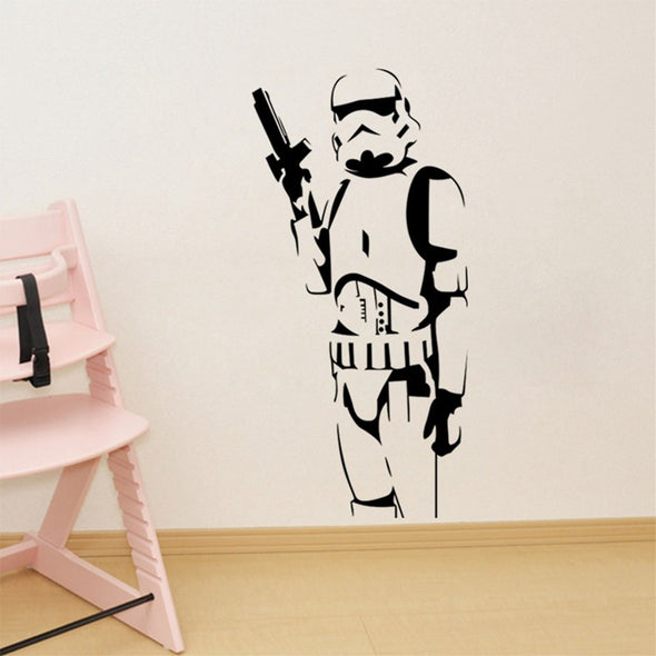 Cartoon Wall Stickers for Kids Room DIY Star Wars Character Wall - Cosplay Infinity