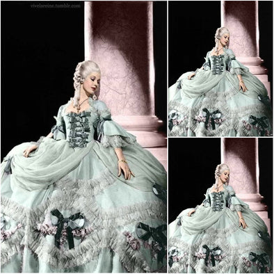 New! Customer-made Victorian Rococo Southern Belle Marie Antoinette Dress - Cosplay Infinity