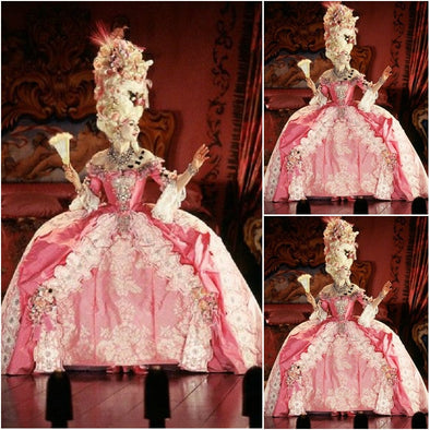 Quality Victorian Rococo Marie Antoinette Dress - Cosplay Infinity