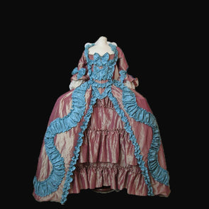 Tailored!Royal Eras Court Queen Duchess Civil War 18th Century Court Belle Marie Antoinette DRESS Victorian dresses
