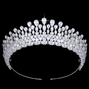 Tiara Crown Water Droplets Design Elegant - Cosplay Infinity
