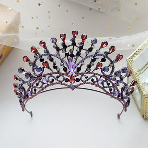 Beautiful Vintage Baroque Bridal Crowns Tiaras