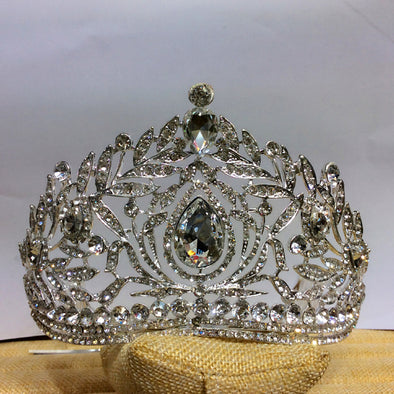 High Quality Royal Crystal Bridal Tiara Crown