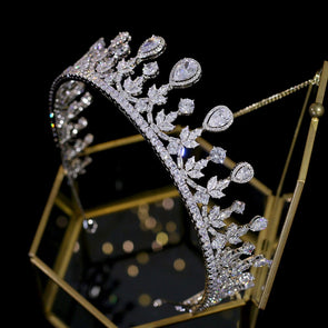 High Quality Zirconia Crown Tiara
