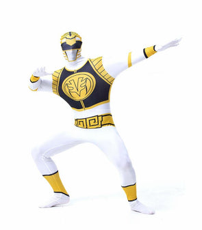 Power Ranger Cosplay Dinosaur Team Jumpsuits Adult Kids Zentai Suit
