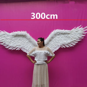 Large Stage Angel Wings Photo Shoot Wall Decor Mounted Angel Wings
