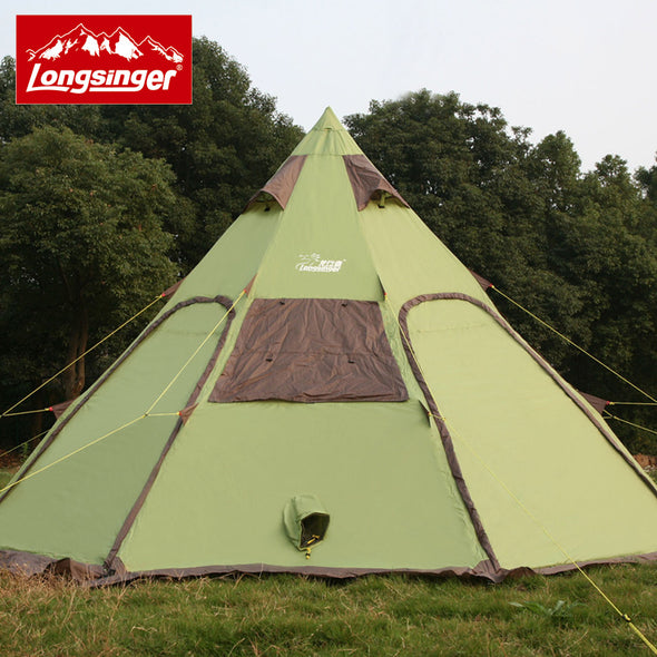 8 - 12person tent outdoor camping yurt field