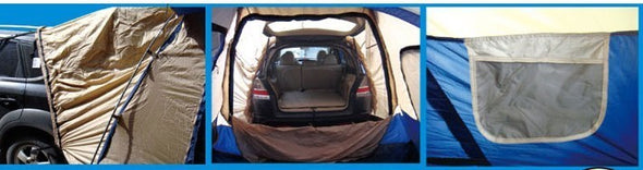 5-8 Person High quality Anti Rain Travel Car Road Trip Outdoor Camping Tent