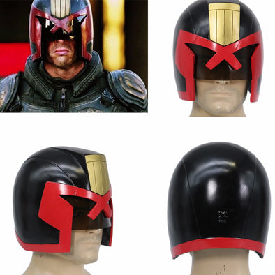 Judge Dredd Helmet Full Head Dredd COSplay Racing Mask Cosplay Helmet - Cosplay Infinity