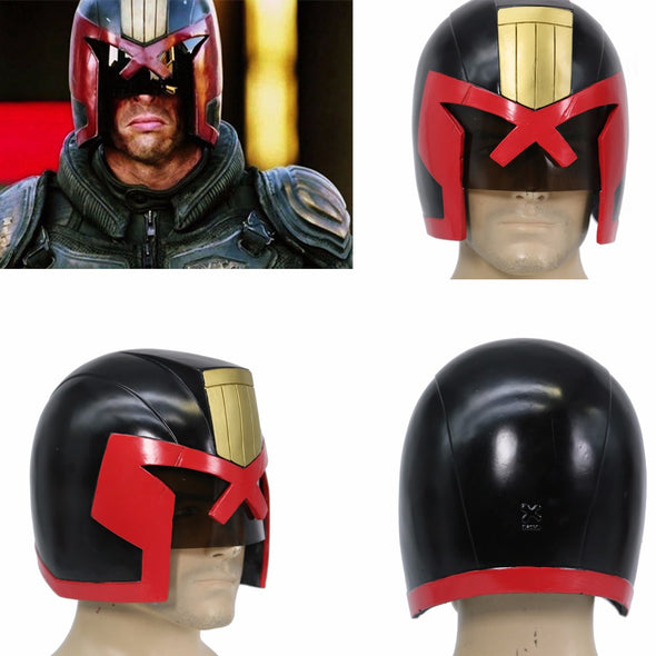 Judge Dredd Helmet Full Head Dredd COSplay Racing Mask Cosplay Helmet