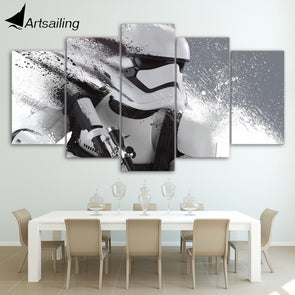 Print Stormtrooper Star Wars Movie Poster Painting Modern Decor - Cosplay Infinity