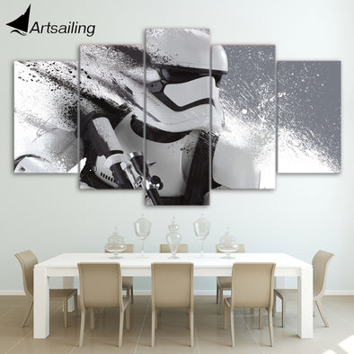 Print Stormtrooper Star Wars Movie Poster Painting Modern Decor