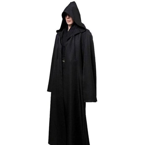 Star Wars Jedi Cloak Cosplay Costumes Adult Men Hooded Robe Cloak Cape - Cosplay Infinity