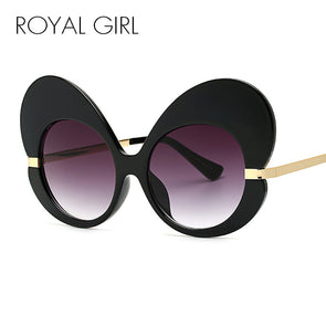 New Women Butterfly Sunglasses Oversize Cat Eye Glasses Women - Cosplay Infinity