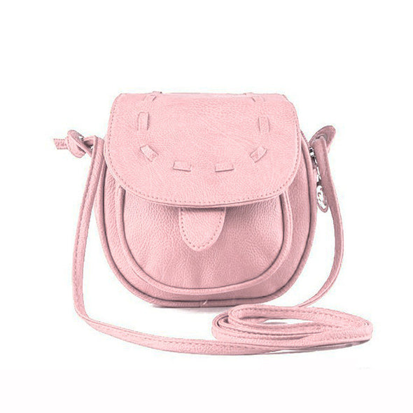 Women Girl Small Adjustable Shoulder Mini Cross Body Bag PU Leather - Cosplay Infinity