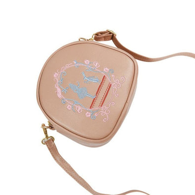 Women Girls Shoulder Bags Small Slim Cross Body Pretty Print Embroidery Design - Cosplay Infinity