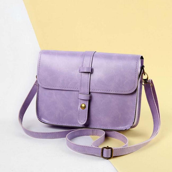 Xiniu Women Shoulder bag Vintage Purse Bag Leather Cross Body Shoulder Messenger Bag - Cosplay Infinity