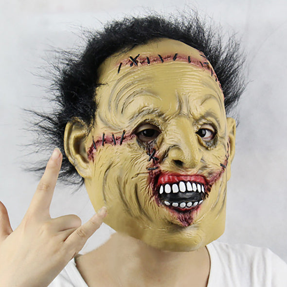 Full Face  Horror Halloween Mask Monster Supplies Scary Mask Masquerade Latex Cosplay Costume - Cosplay Infinity