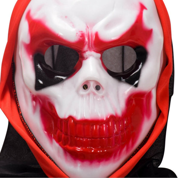 Scary Party Masks Latex Skull Mask Adult Full Head Face - Cosplay Infinity
