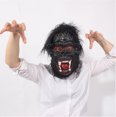 Gorilla Mask Halloween Head Latex Mask Adult Scary Masks Masquerade - Cosplay Infinity