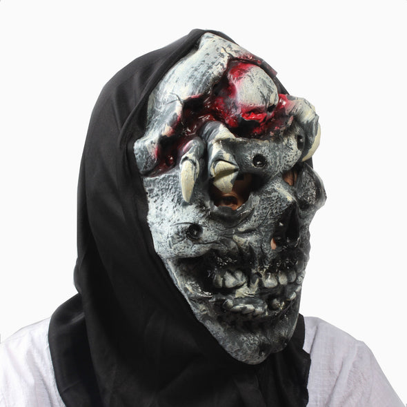 Scary Party Mask Latex  Adult Cosplay Costume Skull - Cosplay Infinity