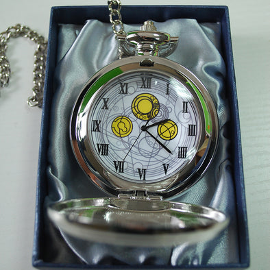 High Quality Doctor Who Cosplay Pocket Watch David Tennant Master's Fob Watches With Chain - Cosplay Infinity