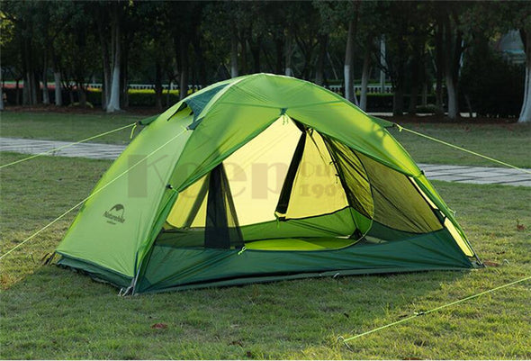 Camping Tent Outdoor Inflatable Lightweight 2 Person 20D Silicone Double-layer Tents - Cosplay Infinity