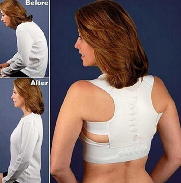 Posture Corrector Braces Support Body Corset Back Belt Brace Shoulder - Cosplay Infinity