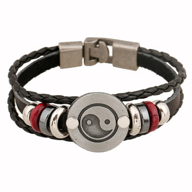Unisex Leather Bracelet & Bangles Jewelry - Cosplay Infinity